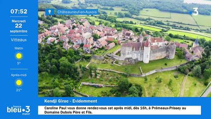 22/09/2021 - Le 6/9 de France Bleu Bourgogne en vidéo