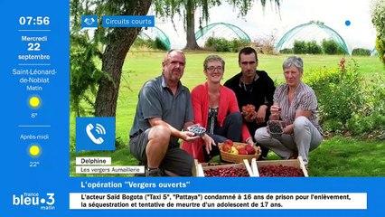 22/09/2021 - Le 6/9 de France Bleu Limousin en vidéo