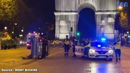 Paris : Une automobiliste percute des piétons sur les Champs-Élysées, trois blessés graves