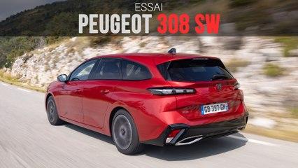 Essai Peugeot 308 SW : au volant du nouveau break, en version hybride !