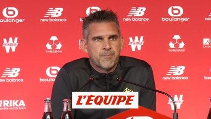 Gourvennec : «Le foot ce n'est pas ça» - Foot - L1 - Incidents Lens-Lille