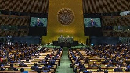 Los talibanes piden entrar en la ONU