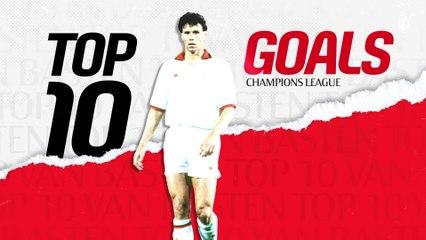 Champions League: la Top 10 Goals di Marco van Basten