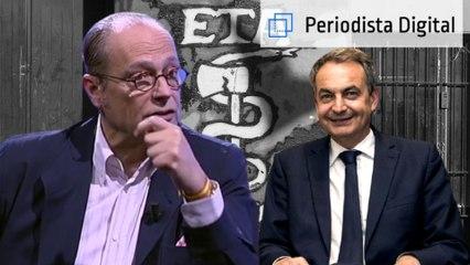 """Eduardo García Serrano: """"El proceso de paz iniciado por Zapatero fue la rendición de España a ETA"""""""