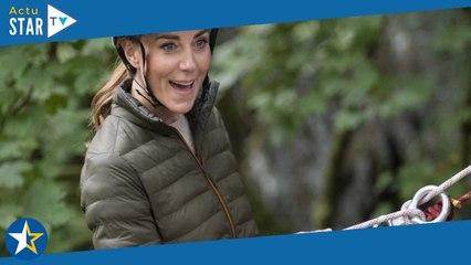 Kate Middleton casse-cou : cordes et casque, la duchesse joue la normalité