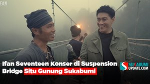 Ifan Seventeen Konser di Suspension Bridge Situ Gunung Sukabumi