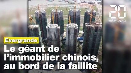 Evergrande: le géant de l'immobilier chinois, au bord de la faillite, inquiète les bourses