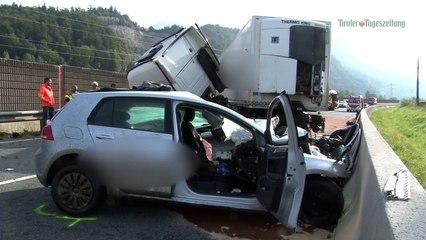 Mann starb bei Zusammenstoß zwischen Auto und Lkw in Wörgl