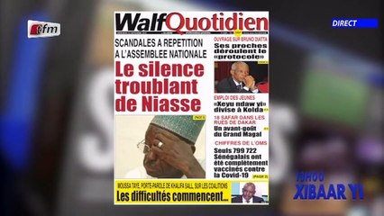 Revue de presse de ce 22 Septembre 2021 avec Mamadou Mouhamed Ndiaye