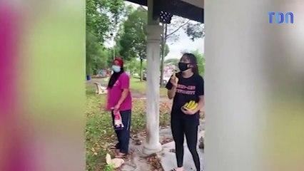 Un singe kidnappe un chiot et le garde sur une branche pendant 3 jours