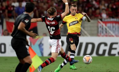 Barcelona Sporting Club va en busca de la hazaña  ante Flamengo