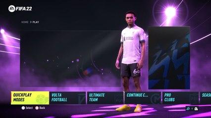 All New?  FIFA 22 Main Menu and Soundtracks