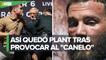 """""""No hables de mi madre""""_ Canelo Álvarez reacciona a insulto de Caleb Plant en plena conferencia"""
