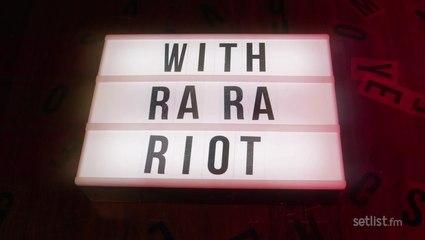 Marquee Memories: Ra Ra Riot Reminisces Seeing U2 Concert