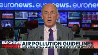 EU air pollution limits way out of step with new WHO guidelines