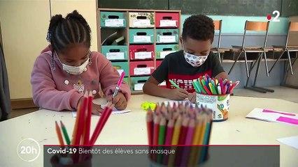 Covid-19 : bientôt la fin du masque pour certains élèves de primaire