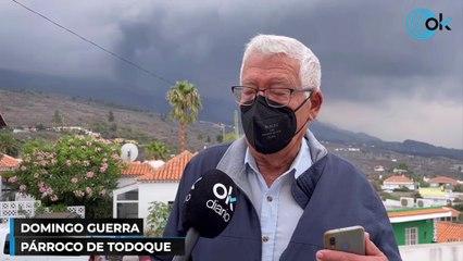 Ha vivido, a sus 79 años, las tres últimas  erupciones en la isla de La Palma