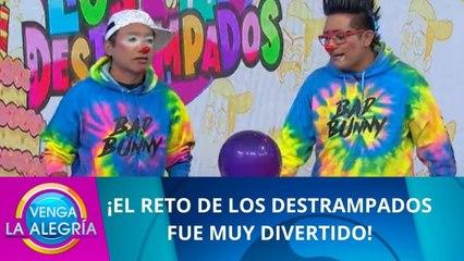 ¡El divertido reto de Los Destrampados!   Programa 22 septiembre 2021 PARTE 2   Venga La Alegría