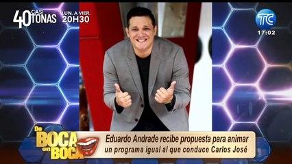 Eduardo Andrade tendría el mismo tipo de programa que tiene Carlos José Matamoros