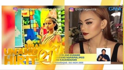 """Unang Hirit: Glow up ni """"Badjao Girl"""" Rita Gaviola!"""