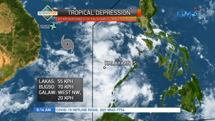 Weather update as of 6:14 a.m.(September 23, 2021) | UB