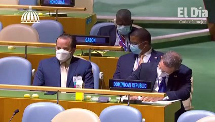 Discurso del Presidente Luis Abinader ante la 76ava Asamblea General de la Organización de las Naciones Unidas (ONU)