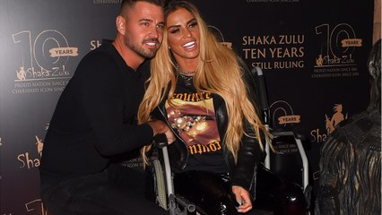 Katie Price and fiance Carl jet to Turkey after Katie claims he had nothing to do with alleged assault