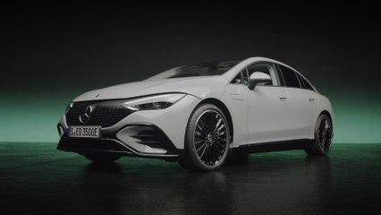 Der neue Mercedes-Benz EQE - Leistungsstarke Zellchemie trifft auf intelligente Software