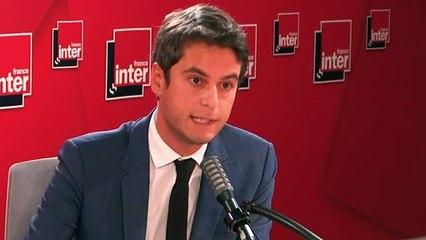 """L'abandon du masque au primaire dans certains départements """"est un choix scientifique et un choix politique"""" affirme Gabriel Attal"""