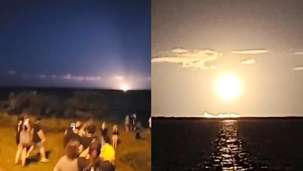 'Big crowd gathers in Titusville to watch the historic launch of SpaceX's Inspiration4 mission'