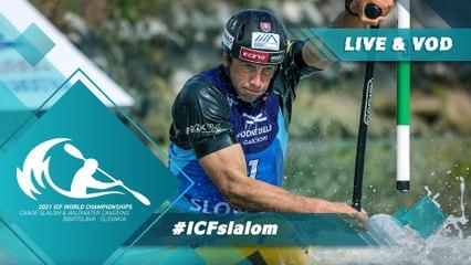 2021 ICF Canoe Kayak Slalom & Wildwater World Championships Bratislava Slovakia / Slalom Kayak Heats