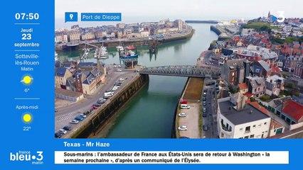 23/09/2021 - Le 6/9 de France Bleu Normandie en vidéo
