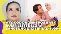 Aty Kodong Ekspos Baby Bump Lesti Kejora, Langsung Dicibir Tak Elok!