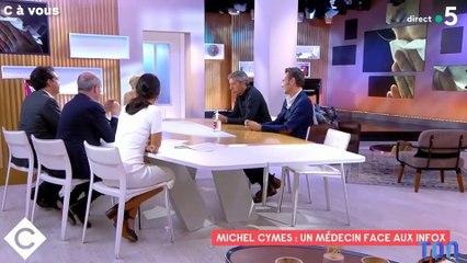 « Ce sont des tarés ! » : Michel Cymes en colère contre les médecins antivax