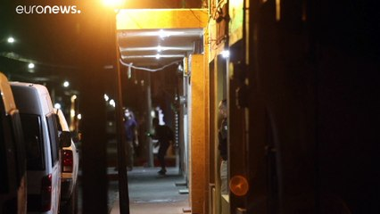 Realizan redadas nocturnas contra migrantes haitianos en México