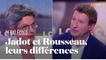 Jadot et Rousseau, les cinq différences