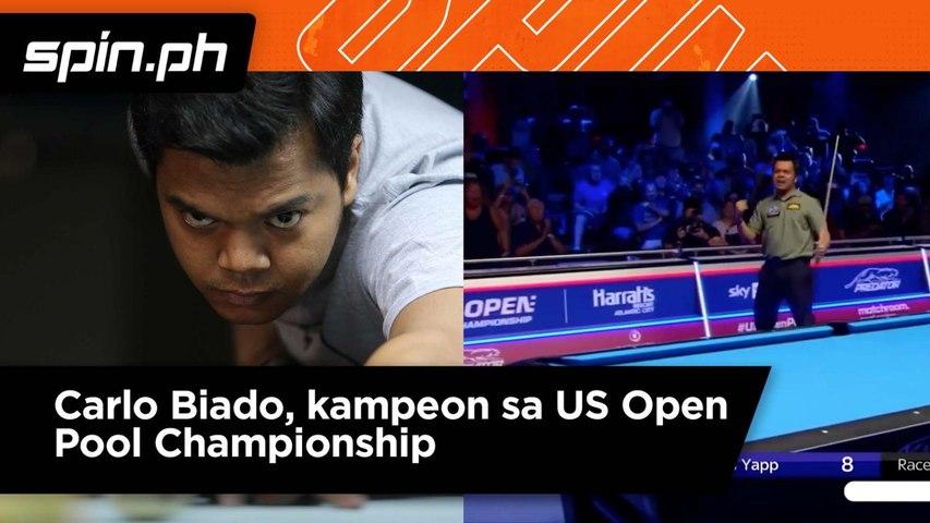 Carlo Biado kampeon sa US Open Pool Championship