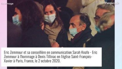 Eric Zemmour : Qui est Sarah Knafo, sa conseillère de campagne ?