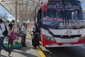 Buses intra e interprovinciales circularán al 100% de su capacidad