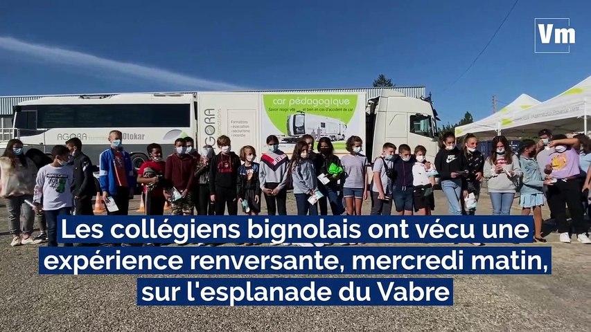 """Transports scolaires: une expérience """"renversante"""" à Brignoles"""