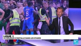 Football - Ligue 1 : les incidents entre supporters se multiplient