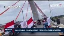 Polisi Bantah Kawal Rombongan Moge yang Viral Lintasi Jembatan Alalak