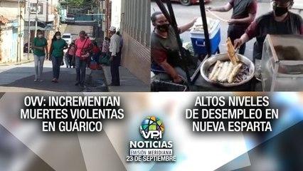 Noticias VPItv Emisión Meridiana - Jueves 23 de Septiembre