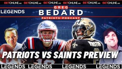 Team Brady gets petty, Mac Jones' decisions, Pats-Saints   Greg Bedard Patriots Podcast