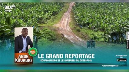 Le Grand reportage | Kouadiotékro et les bananes du désespoir par Ange KOUADIO [ Radio Côte d'Ivoire ]