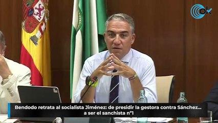 Bendodo retrata al socialista Jiménez: de presidir la gestora contra Sánchez... a ser el sanchista nº1