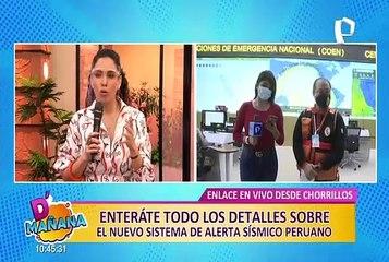Conoce el Sistema de Alerta Sísmico Peruano próximo a inaugurarse