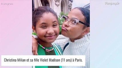 """Christina Milian fière de sa fille Violet (11 ans) à fond dans le sport : """"T'as tout tué"""""""