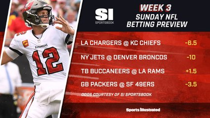 NFL Week 3 Sunday Betting Preview