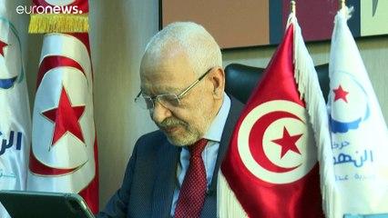 """تونس: الغنوشي يدعو """"للنضال السلمي"""" ضد """"الحكم الفردي المطلق"""""""